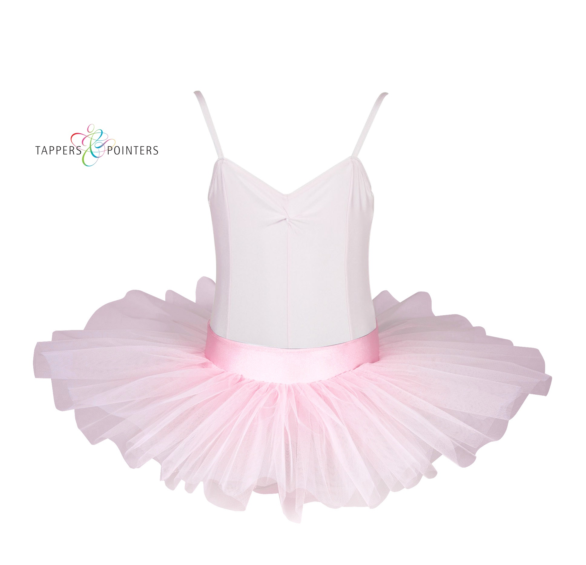 Pull On Tutu Skirt With 3 Net Layers Available In Black Pink Or White