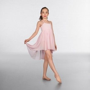 1st Position Pink Camisole Lyrical Contemporary Dress - COLD0006