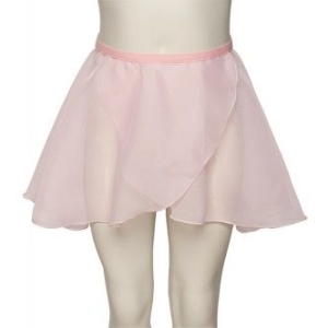 Georgette Wrapover Ballet Dance Skirt on a fixed waistband, Regulation Ballet wear,