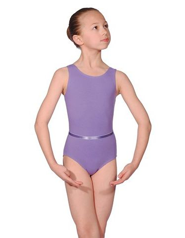 Roch Valey CJUNE Cotton Sleeveless Exam Leotard, Regulation Leotard for RAD grades 1-3
