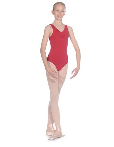 Roch Valley ISTDINT Navy Cotton Lycra Ballet Dance Leotard