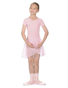 Roch Valley PRIM - Short Sleeved Cotton Ballet Dance Leotard, Exam Regulation wear