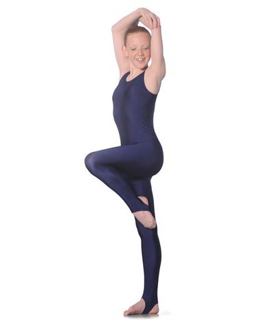 ROCH VALLEY Scoop Neck Plain Sleeveless Nylon, Lycra Catsuit, L108  Dance, Jazz, Tap Various Colours
