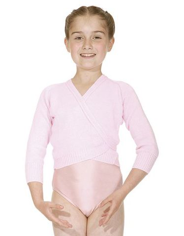 Roch Valley Wrapover Long Sleeved Ballet Dance Cardigan OL1