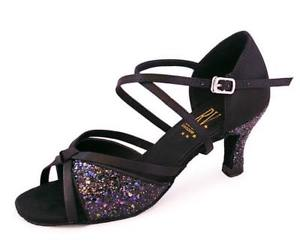 "RVCALYPSO - Roch Valley Latin Ballroom Dance Shoes 2.5"" Heel"